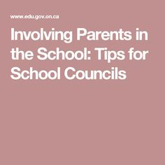 Involving Parents in the School: Tips for School Councils School Tips, Parents, Dads, Raising Kids, Parenting Humor, College Tips, Parenting