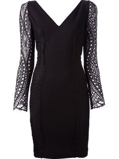 EMILIO PUCCI - lace sleeve dress 6
