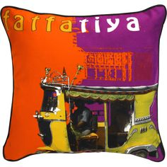 <p>Energize your living and working spaces with Fatfatiya's Quirky Cushion Covers and add a Indian touch to your decor. These cushion cover is made of superior quality fabric and digital printing is remarkable.<br></p>