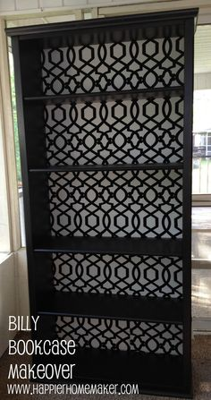 Cheap Bookcase, Ikea Billy Bookcase, Barrister Bookcase, Do It Yourself Furniture, Do It Yourself Home, Trendy Furniture, Diy Furniture, Decoupage Furniture, Vintage Furniture
