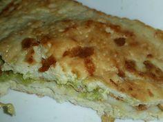 Otro #healthy #sandwich!  Esta vez el pan hecho con tofu y relleno de pavo, mozzarella, pepino y guacamole. Y apenas 300kcal!