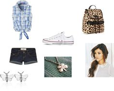 """Back to school outfit"" by ejfull ❤ liked on Polyvore"