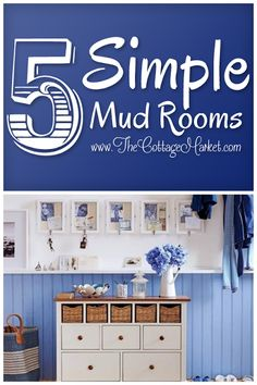 Five Fun, Functional and Fabulous Mudroom Inspirations