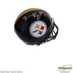 Ben Roethlisberger Autographed Black Mini Helmet