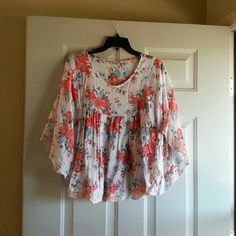 XXI TOP Boho style, flowy Tops Blouses