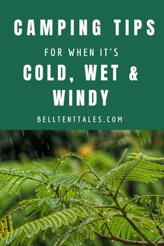 Worried the weather won't be great on your next camping trip? Here are 5 tips for camping in cold, wet and windy weather camping gear Camping Activities, Camping Meals, Tent Camping, Camping Hacks, Outdoor Camping, Camping Gadgets, Camping Stuff, Camping Recipes, Camping Dishes