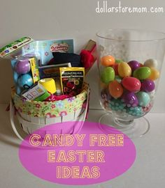 How to have an awesome Easter without any candy at all! (great ideas on what to put in the plastic eggs for your Easter Egg Hunt!)
