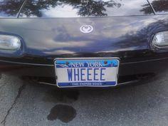 WHEEEE Vanity Plate