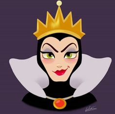 Rocio's Belen Ferreiro Art Princess-Beauty-Case Disney Evil Queen Evil Disney, Disney Magic, Disney Villains, Disney Pixar, Disney Characters, Disney Fan Art, Disney Style, Snow White Queen, Cute Christmas Wallpaper