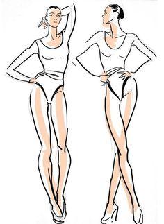 моделирование одежды эскизы - Поиск в Google