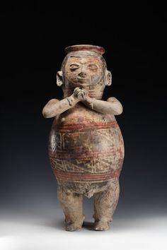 Anthropomorphic Figure Creator: Culture Carchi Date: 750 - 1550 Provenance: Ecuadorian Northern Highlands, Ecuadorian Northern Highlands