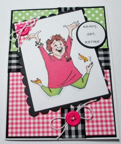 Happy Retirement Handmade Card by LoveInBloomCreations on Etsy, $3.00