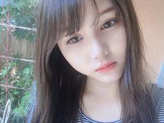 Cute Asian Girls, Beautiful Asian Girls, Cute Girls, Kawaii Girl, Aesthetic Girl, Ulzzang Girl, Asian Beauty, Hairstyle, Pretty