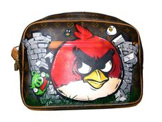 Angry birds on Louis Vuitton Art by Year Zero London
