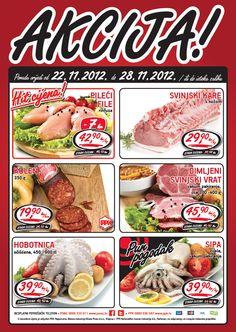 Akcija tjedna – ponuda vrijedi od 22.11. do 28.11.2012. ili do isteka zaliha.