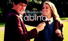 House of Anubis 20 Day Challenge--Day 6, Your OTP...Fabina. Even with Nina gone in Season 3, these two will always be the perfect couple in my mind! <3 Amfie is a close second!