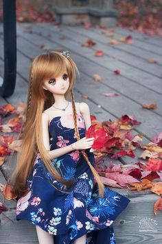 Smart doll Mirai #canada #autumn #doll_photography