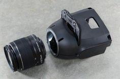 Light Blaster Strobe-based slide projector
