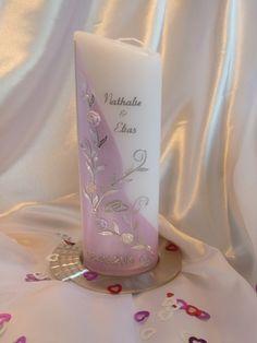 Hochzeitskerze von JFH Arts auf DaWanda.com