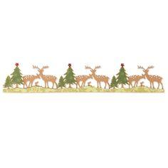 Sizzix Sizzlits Decorative Strip Die - Woodland Deer £16.00