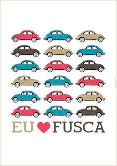 Wallpaper Eu Amo Fusca
