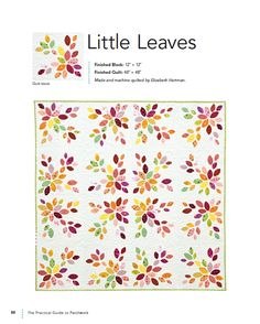 Little Leaves by Elizabeth Hartman from The Practical Guide to Patchwork (2010). ohfransson.com