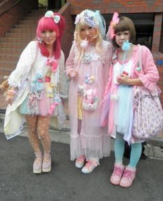 Cute Fairy Kei Style