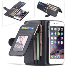#gadget Leisure Folded #Wallet Case For Apple iPhone 6 6s /Plus 5 5s 5c 4s amzn.to/2awqdox