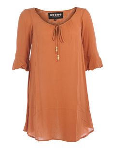 Boho-look dress  #plus #size #fashion #dress