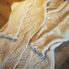 Cardigan mohair and silk homemade