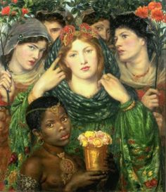 """The Beloved"" by Dante Gabriel Rossetti (1865)."