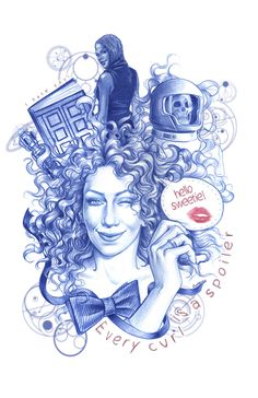 Doctor Who fanart on Behance by Claudia SG Ianniciello