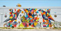 Remed x Okuda..  . #streetart