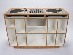 DUAL Los Angeles DJC-02 - DJ console and storage
