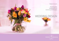 Our personal wedding design Wedding Groom, Bride Groom, Wedding Company, Wedding Designs, Glass Vase, Wedding Venues, Reception, Decor, Wedding Reception Venues