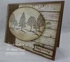 making cards with woodgrain embossing folders youtube - Bing images
