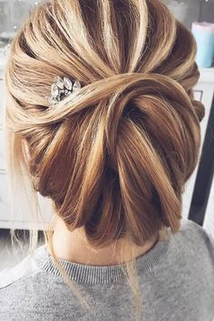 Bridal Hairstyles : 30 Enchanting Wedding Updos Have a mind about what kind of wedding hairstyle