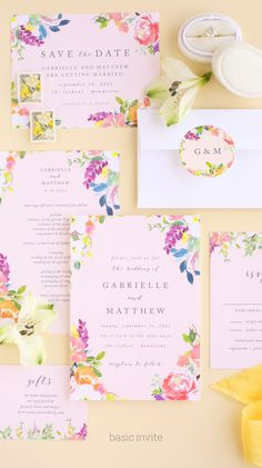 Enjoy the company of your friends and family when you use our Spring Peach Wedding Invitations to invite them. Free Wedding, Boho Wedding, Summer Wedding, Floral Wedding, Rustic Wedding, Wedding Flowers, Peach Wedding Invitations, Wedding Invitation Design, Wedding Stationery