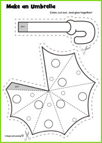 Umbrella Craft - garland crafts crafts for adults crafts for seniors crafts for toddlers crafts for tweens crafts ideas crafts to sell - crafts Summer Crafts For Toddlers, Crafts For Seniors, Toddler Crafts, Art For Kids, Creative Activities, Art Activities, Rain Crafts, Umbrella Art, Umbrella Crafts
