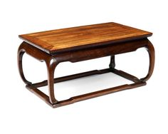A huanghuali low table, kang Qing Dynasty