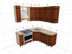 дизайн кухни в хрущевке: 1