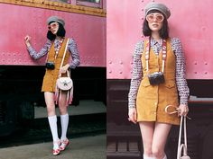 Get this look: http://lb.nu/look/8599493 More looks by Amy Roiland: http://lb.nu/afashionnerd Items in this look: Salar Bag #retro #romantic #vintage