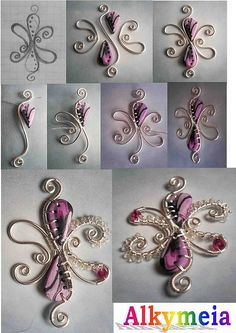Love this for years, Wire wrap and polymer tutorial
