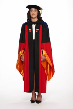 Stanford Complete Doctoral Regalia - Gown, Hood, and Cap