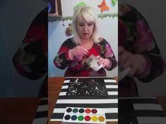 (106) Мастер класс во 2 младшей группе как рисовать солью. - YouTube