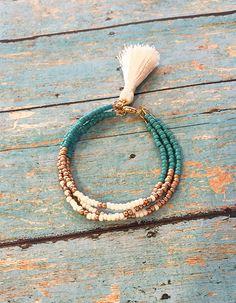 Boho Tassel Bracelet #friendshipbracelet #gifts #bracelets #handmadejewelry