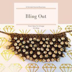 need a little bling?  #Femaleownedbusiness#newyorkfashionweek #fashion#chic #bossbabe #Jcrew #fashionblogger  #classic #timeless #forsale #ebay #aesthetic #femaleentrepreneur #shopping #shop #aesthetic #artistic #art #artform #beauty #jewelry