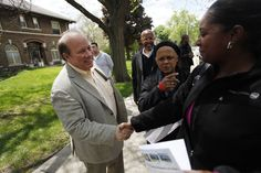 Detroit's first white mayor in 40 years talks abandoned housing, streetlights, and gentrification.