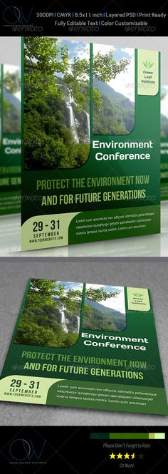 Environment / Nature Flyer