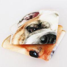 リアルモチーフタオル DOG (BULLDOG) - ●Leadies' Hemings collection/・リアルモチーフタオル [CONCIERGE-NET (運営:株式会社スーパープランニング)]